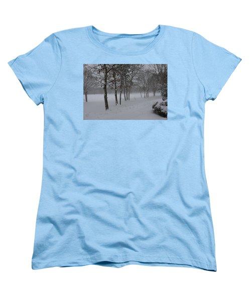 2 2014 Winter Of The Snow Women's T-Shirt (Standard Cut) by Paul SEQUENCE Ferguson             sequence dot net