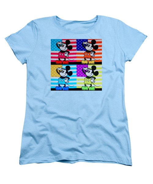 American Mickey Women's T-Shirt (Standard Cut)