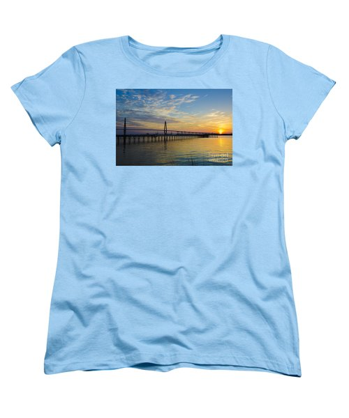 Women's T-Shirt (Standard Cut) featuring the photograph Magical Blue Skies by Dale Powell
