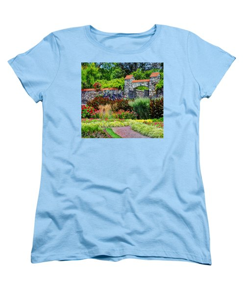 Biltmore Gardens Women's T-Shirt (Standard Cut) by Savannah Gibbs
