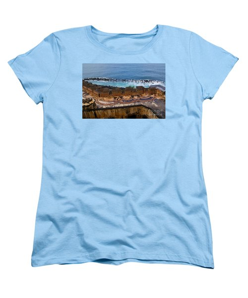 Women's T-Shirt (Standard Cut) featuring the photograph Castillo San Felipe Del Morro by Olga Hamilton