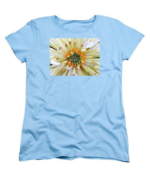 Chrysanthemum Fall In New Orleans Louisiana Women's T-Shirt (Standard Cut) by Michael Hoard