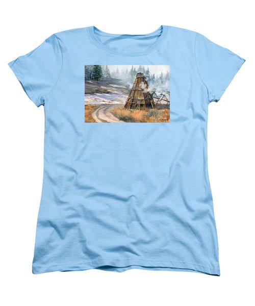 Cookin' It Women's T-Shirt (Standard Cut) by Lynne Wright