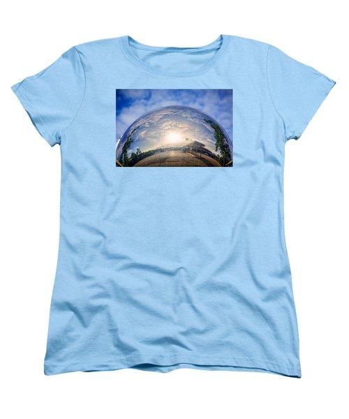 Distorted Reflection Women's T-Shirt (Standard Cut) by Sennie Pierson