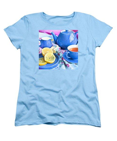 Do You Take Lemon? Women's T-Shirt (Standard Cut) by Theresa Tahara