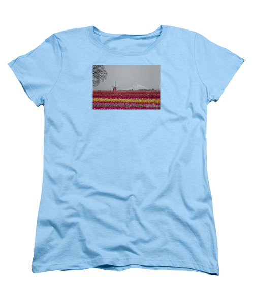 For The Beauty Of The Earth Women's T-Shirt (Standard Cut) by Nick  Boren