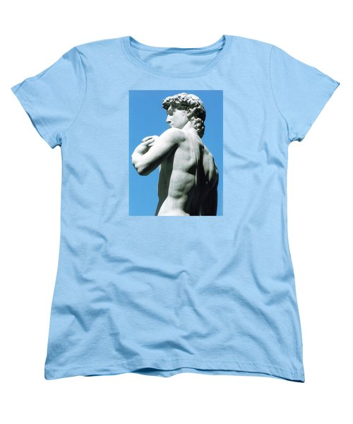 Glance At David Women's T-Shirt (Standard Cut) by Oleg Zavarzin