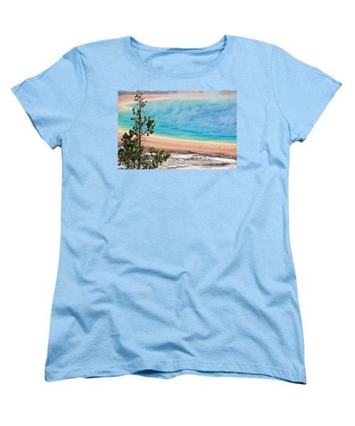 Grand Prismatic Spring Women's T-Shirt (Standard Fit)