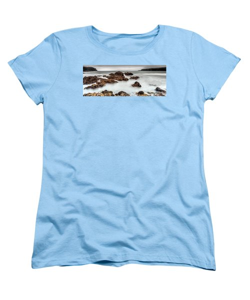 Grey Morning Women's T-Shirt (Standard Cut) by Steven Reed