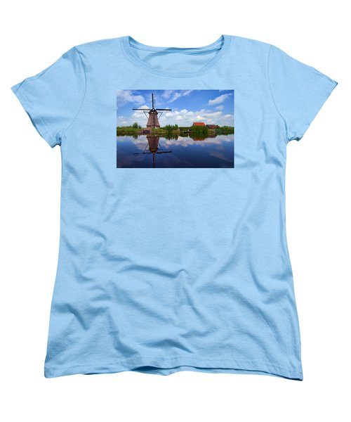 Kinderdijk Women's T-Shirt (Standard Cut) by Hugh Smith