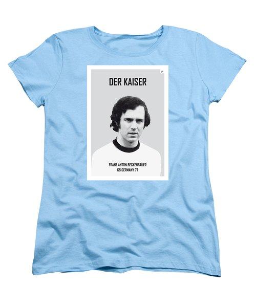 My Maradona Soccer Legend Poster Women's T-Shirt (Standard Cut)