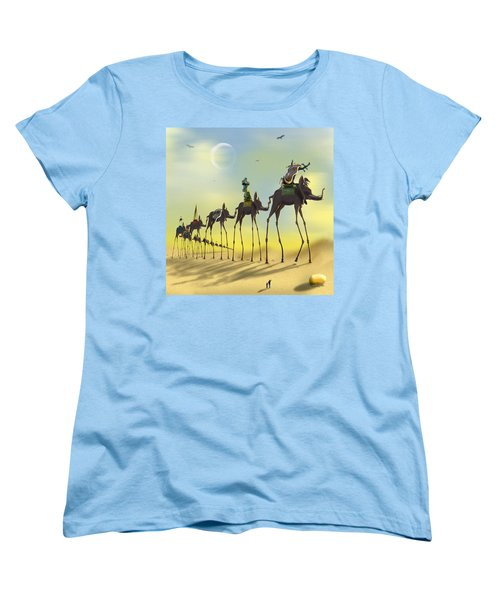 On The Move Women's T-Shirt (Standard Cut) by Mike McGlothlen