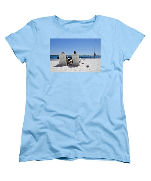 On The Waterfront Women's T-Shirt (Standard Cut) by Keith Armstrong