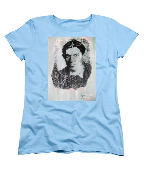 Women's T-Shirt (Standard Cut) featuring the painting Pablo by Roberto Prusso