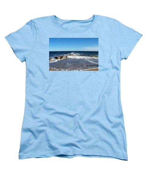 Women's T-Shirt (Standard Cut) featuring the photograph Plum Island Landscape by Eunice Miller