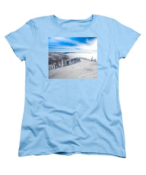 Ridgeline Women's T-Shirt (Standard Cut) by Aaron Aldrich