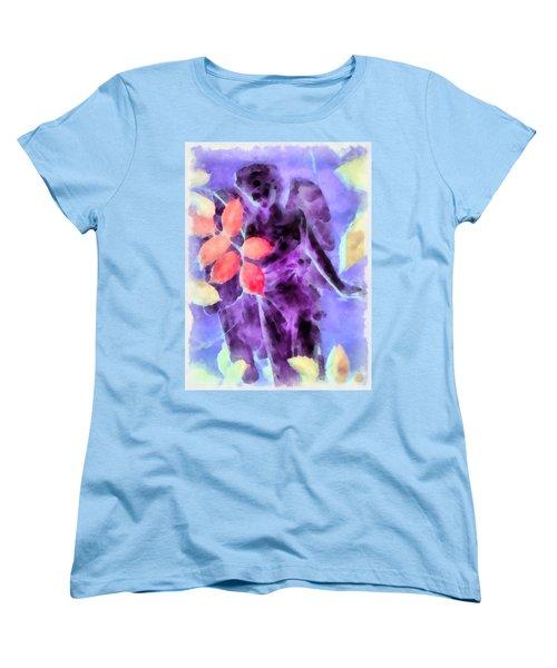 Send Me An Angel 3 Women's T-Shirt (Standard Cut) by Angelina Vick