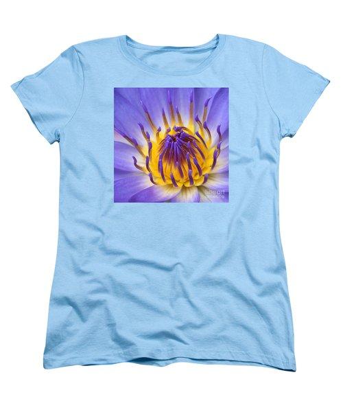 The Lotus Flower Women's T-Shirt (Standard Cut) by Sharon Mau