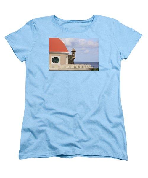 Viejo San Juan Women's T-Shirt (Standard Cut) by Daniel Sheldon