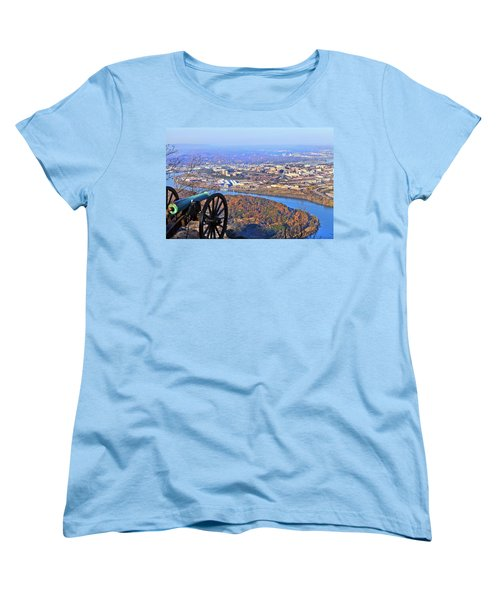 Chattanooga In Autumn Women's T-Shirt (Standard Cut) by Melinda Fawver