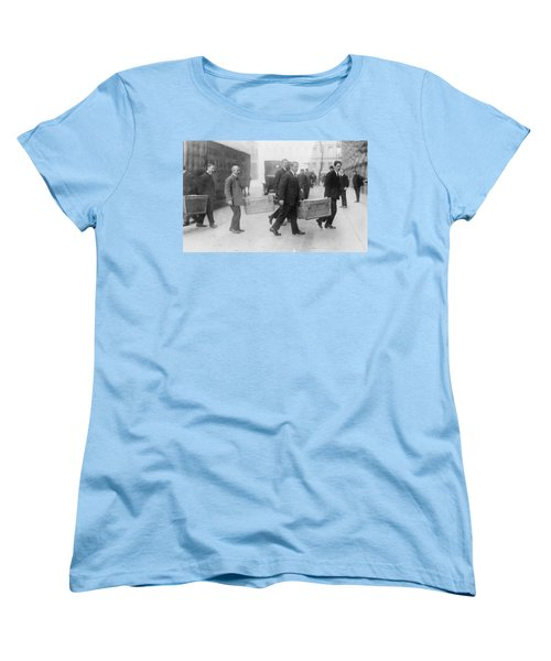 Women's T-Shirt (Standard Cut) featuring the photograph Germany Inflation, 1923 by Granger