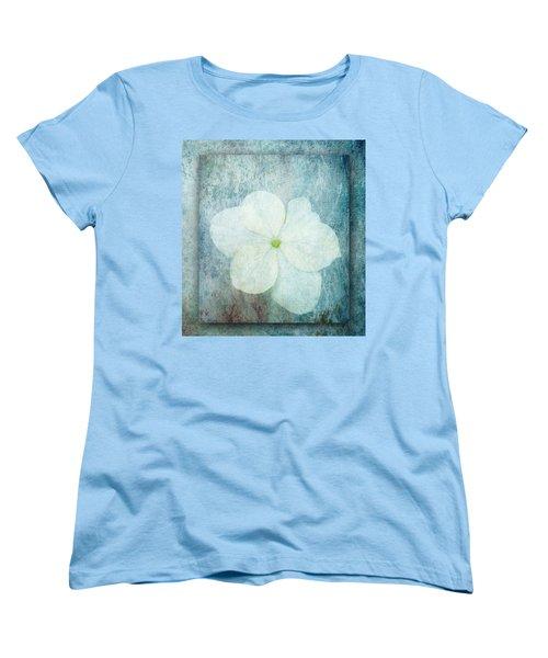 Hydrangea Women's T-Shirt (Standard Cut) by Lynn Bolt