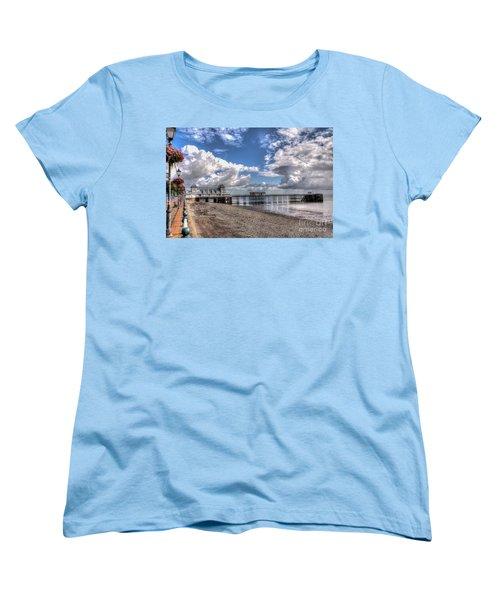 Penarth Pier 3 Women's T-Shirt (Standard Cut) by Steve Purnell
