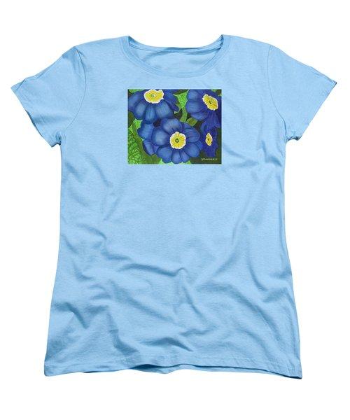 Prim And Proper Women's T-Shirt (Standard Cut) by Donna  Manaraze