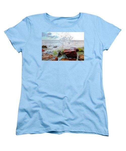 Quintana Jetty Women's T-Shirt (Standard Cut) by Savannah Gibbs
