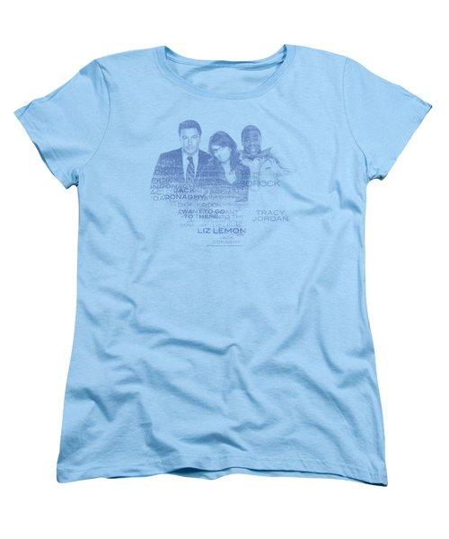 30 Rock - Words Women's T-Shirt (Standard Cut)