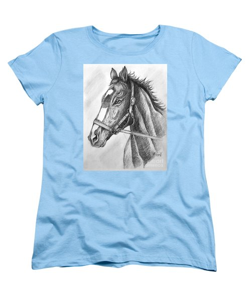Rachel Alexandra Women's T-Shirt (Standard Cut) by Patrice Torrillo