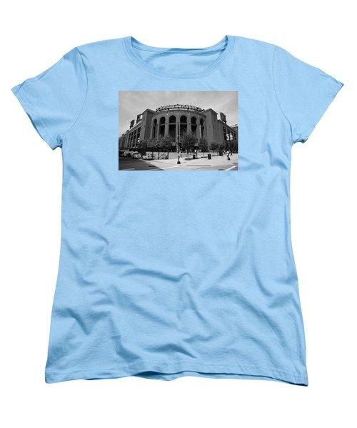 Busch Stadium - St. Louis Cardinals Women's T-Shirt (Standard Cut) by Frank Romeo