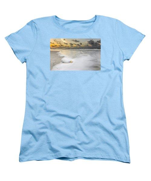 Sunrise On Hilton Head Island Women's T-Shirt (Standard Cut) by Peter Lakomy