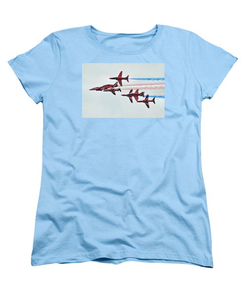 50th Anniversary 'red Arrows' Women's T-Shirt (Standard Cut) by Tim Beach