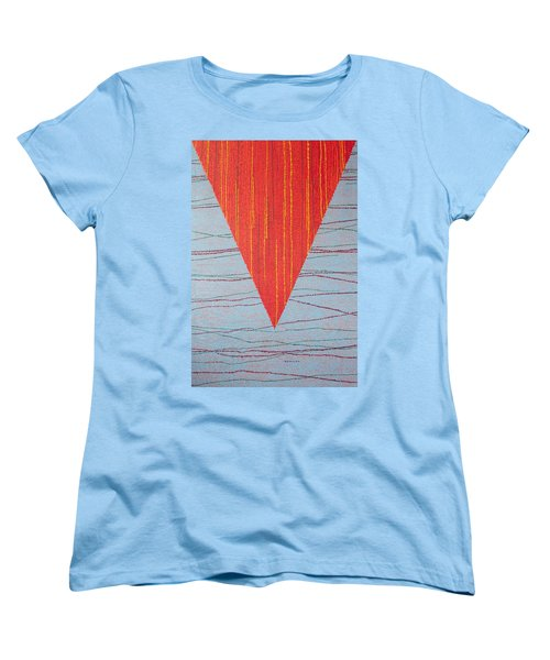 Women's T-Shirt (Standard Cut) featuring the painting Untitled by Kyung Hee Hogg