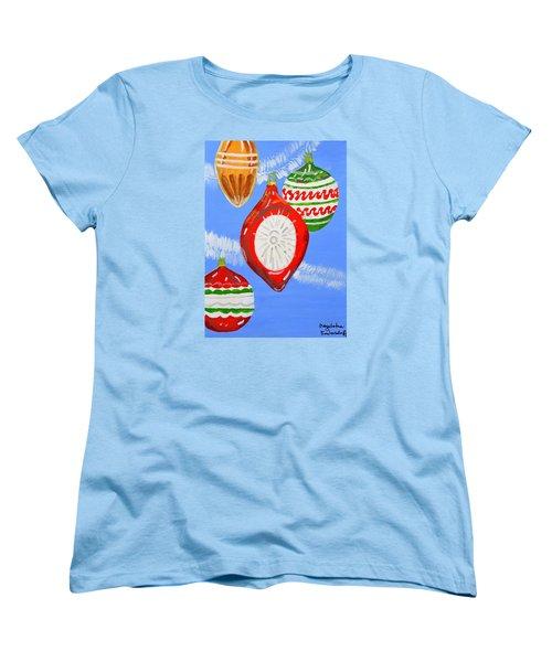 Merry Christmas  Women's T-Shirt (Standard Cut) by Magdalena Frohnsdorff