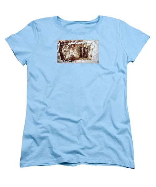 Women's T-Shirt (Standard Cut) featuring the photograph Anton Chekhov's Seagull by Danica Radman