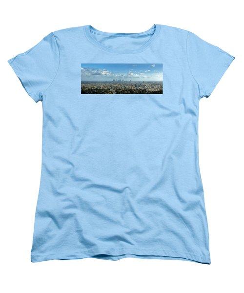 A 10 Day In Los Angeles Women's T-Shirt (Standard Cut) by David Zanzinger