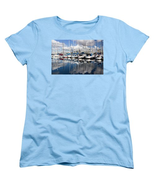 Women's T-Shirt (Standard Cut) featuring the photograph A Beautiful Morning by Heidi Smith