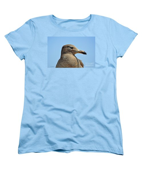 A Brown Gull In Profile Women's T-Shirt (Standard Cut)