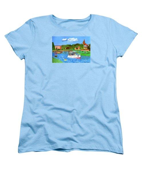 A Day On The River Women's T-Shirt (Standard Cut)