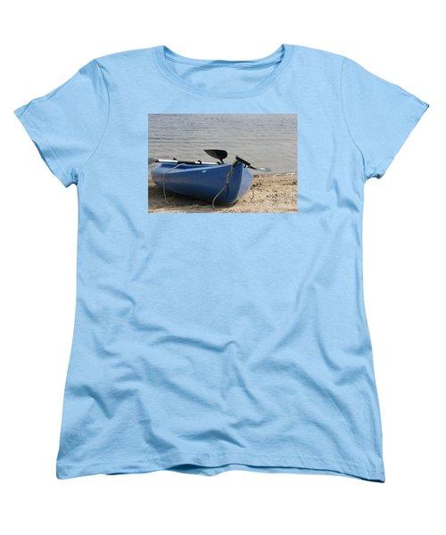 A Day On The Water Women's T-Shirt (Standard Cut) by Barbara Bardzik