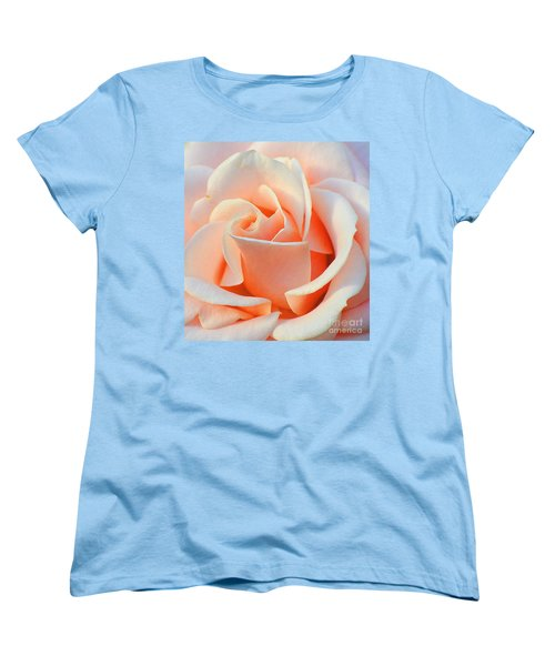 A Delicate Rose Women's T-Shirt (Standard Cut) by Cindy Manero