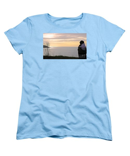 Women's T-Shirt (Standard Cut) featuring the photograph A Father's Love by Suzanne Oesterling