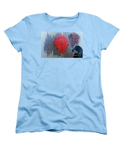 A Glance Of The Wind Women's T-Shirt (Standard Cut) by Fei A