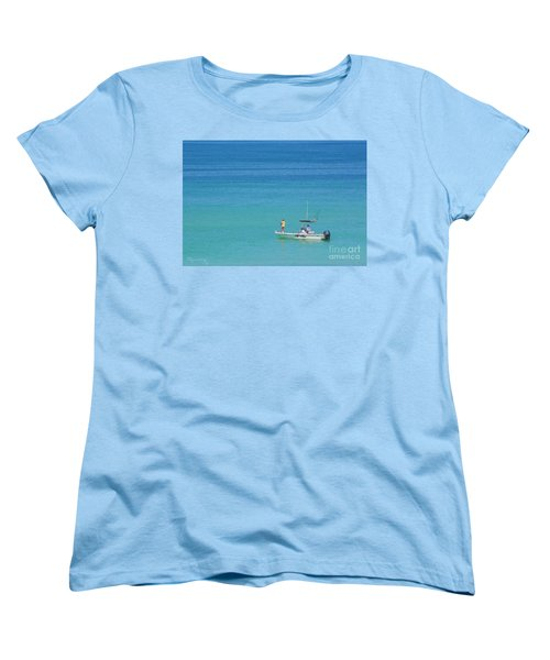 A Great Way To Spend A Day Women's T-Shirt (Standard Cut) by Mariarosa Rockefeller