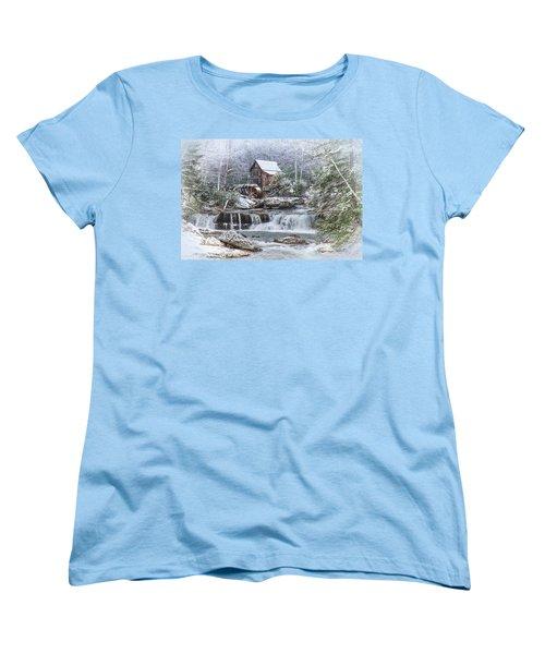 A Gristmill Christmas Women's T-Shirt (Standard Cut)