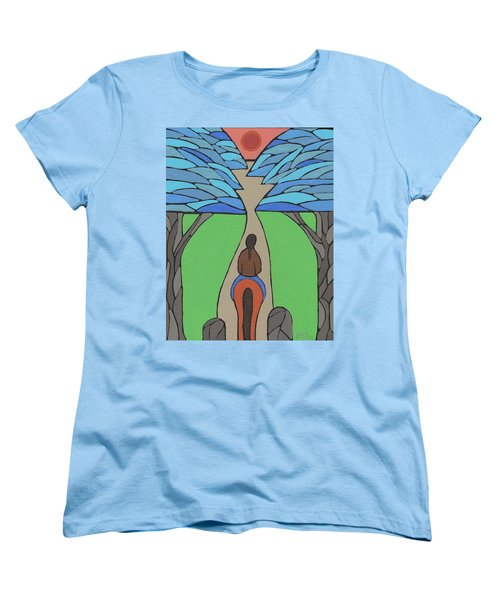 Women's T-Shirt (Standard Cut) featuring the painting A Horse Of A Different Colour by Barbara St Jean