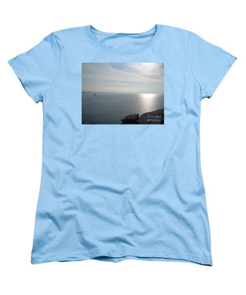 A King's View Women's T-Shirt (Standard Cut) by Richard Brookes