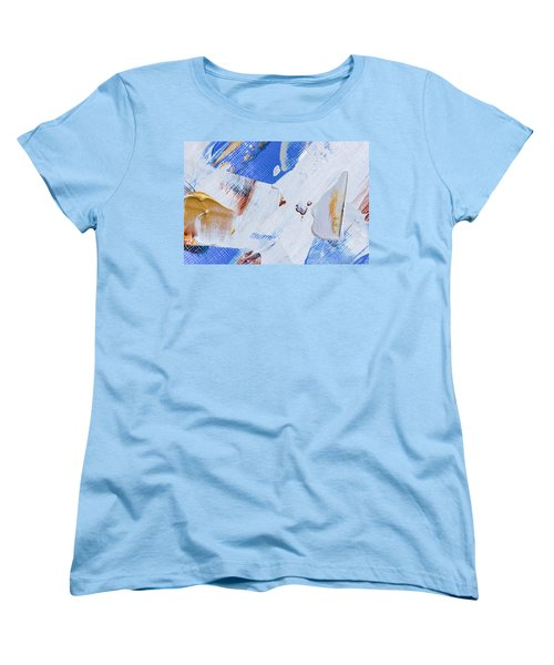Women's T-Shirt (Standard Cut) featuring the painting A Little Blue by Heidi Smith
